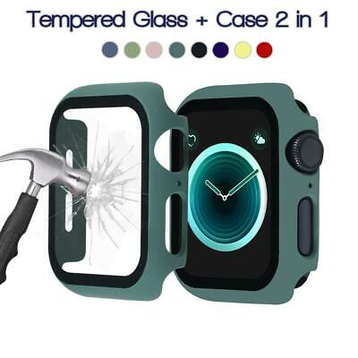 $ CDN4.74 • Buy IWatch Apple Watch Series SE 6 5 4 3 2 1 Protector Cover Case With Screen