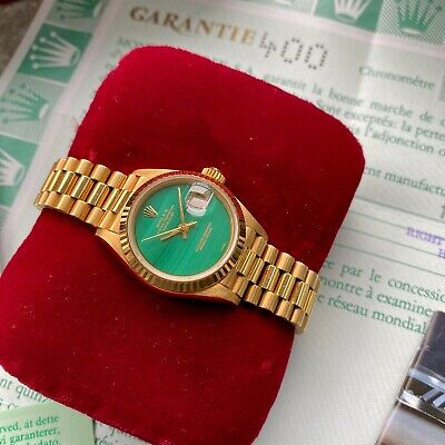 $ CDN18999.95 • Buy 1988 Rolex Gold Datejust 26mm President 69178 Full Set - New Old Stock Condition