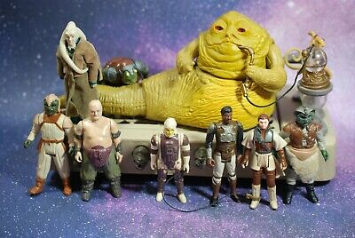 $ CDN200.48 • Buy VINTAGE Star Wars COMPLETE JABBA THE HUTT PLAYSET +8 ACTION FIGURES LOT Play Set