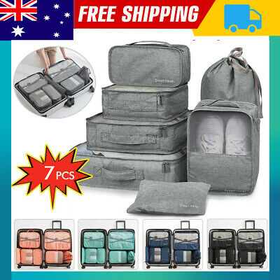 AU18.99 • Buy Packing Cube Pouch Suitcase Clothes Shoe Underwear Storage Bag Luggage Organiser