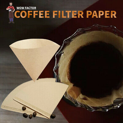 AU6.99 • Buy 40 X V60 Coffee Filters Paper Replacements Coffee Dripper Cone Coffee Filters
