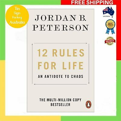 AU18.99 • Buy NEW 12 Rules For Life 2019 By Jordan B. Peterson Paperback Book | FREE SHIPPING
