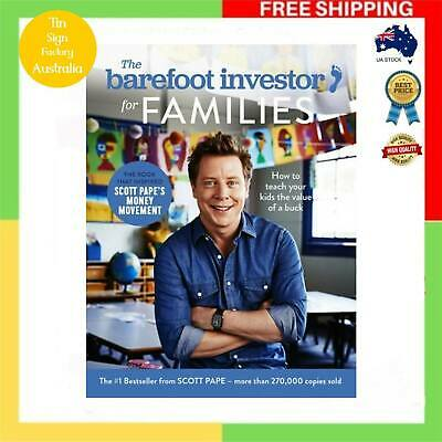 AU24.99 • Buy NEW The Barefoot Investor For Families How To Teach Your Kid The Value Of A Buck