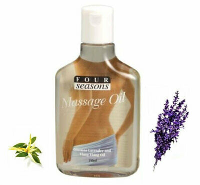 AU13.50 • Buy 100% Natural Lavender And Ylang Ylang Massage Oil - 150ml Aromatherapy