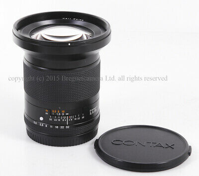 $ CDN1596.14 • Buy Contax Carl Zeiss 645 Distagon T* 35mm F/3.5 For Contax 645 Camera #HK6475X