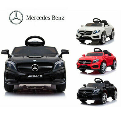 12V Ride On Car Electric Licensed MERCEDES BENZ AMG GLA45 Twin Motor Remote Kids • 101.99£