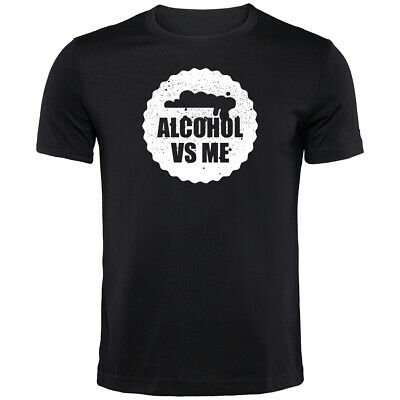 Alcohol Vs Me Beer T-Shirt | Funny Drinking Printed Clothing Secret Santa • 9.99£
