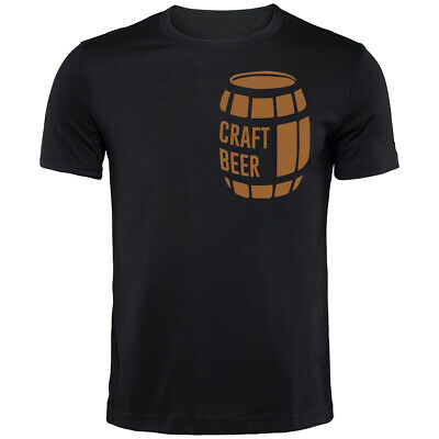 Craft Beer T-Shirt | Funny Drinking Printed Clothing Secret Santa • 9.99£