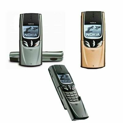 Unlocked Nokia 8850 Bar Cellphone 2G GSM 900/1800 Single Or BOX PACK • 81£