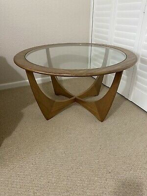 Mid Century G Plan 60's Vintage Round Coffee Table • 84£