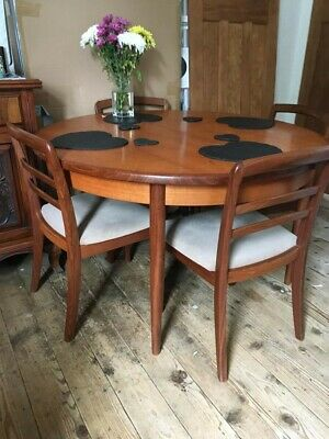 G Plan Table And Four Chairs • 140£