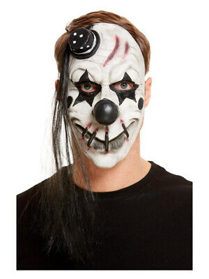 £9.11 • Buy Scary Clown Latex Mask, White