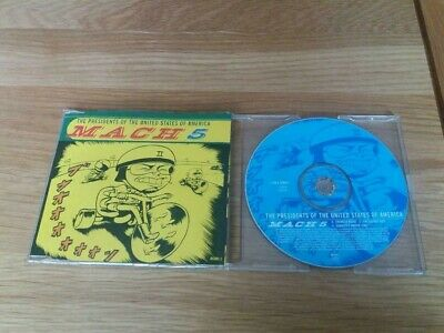 The Presidents Of The United States Of America - Mach 5 ( 4 Tracks ) 1996 • 0.99£