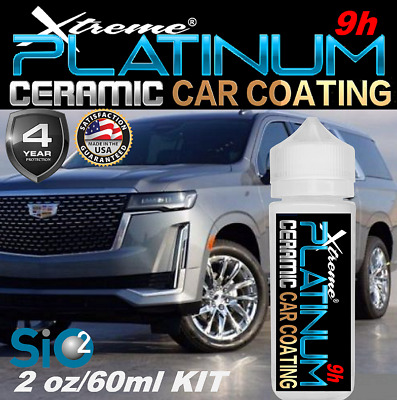 $44.95 • Buy Ceramic Car Coating  Scratch Resistant  Pro Grade 9h Gloss Paint Protection Si02