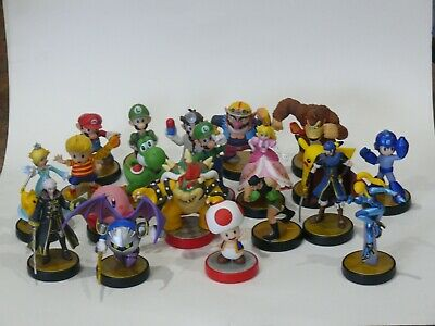 AU300 • Buy Nintendo Amiibo Collection 20 Smash Bros, Pokemon Etc.