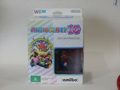 AU35 • Buy NINTENDO Wii U MARIO PARTY 10 GAME AND AMIIBO.