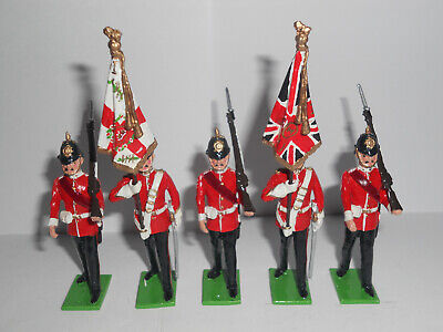 54mm.The Worcestershire Regiment (The Colours)1908, Toy Soldiers. • 15£