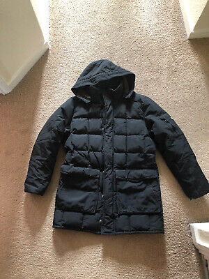 Woolrich Girls Black Puffer Down Coat Size Uk 10 • 19.99£
