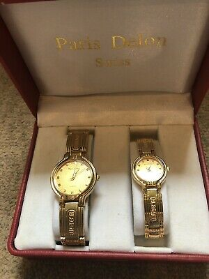His And Hers Gold Watches  • 5£