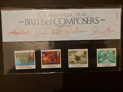 Great Britain Stamps 1985 Presentation Pack British Composers • 0.85£