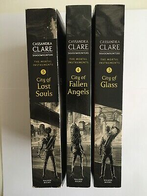 The Mortal Instruments Books 3,4, And 5 By Cassandra Clare • 9.99£
