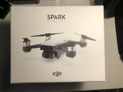 AU405 • Buy DJI Spark Mini Drone Fly More Combo 1080p - White Excellent Condition
