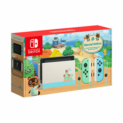 AU644.90 • Buy Nintendo Switch Animal Crossing New Horizons Special Edition Console BRAND NEW