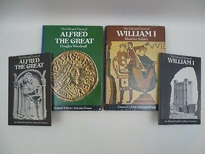 The Life And Times Of Alfred The Great And William I Edited By Antonio Fraser • 16.99£