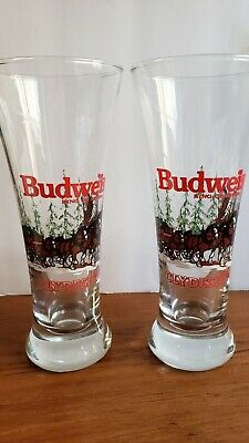 $ CDN4.87 • Buy  Vintage Budweiser Clydesdale Holiday 1989 Winter Beer Pilsner Drinking Glass