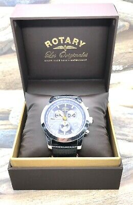 Rotary Les Originales Swiss Made Chronograph Quartz Watch - Sapphire - 13374 • 89.99£