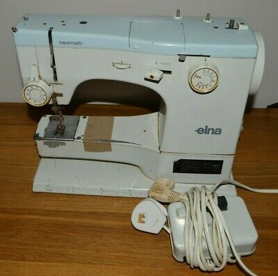 Elna Sewing Machine With Accessories For Spares Or Repair • 1.70£