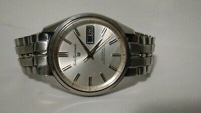 $ CDN4.27 • Buy Vintage Men's Seiko Sportsmatic SS Diashock Automatic 6619-8060 .