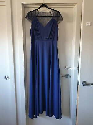 AU27.50 • Buy ASOS Full Length Blue Dress Size 18
