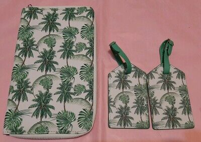 AU19.99 • Buy RFID Protection Passport Holder/ Wallet 25x14cm+ 2x ID Tags- Tree Patterns