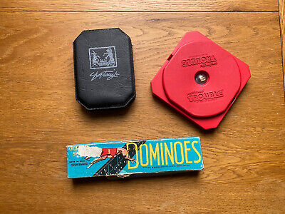 Vintage Retro Games - Shuttles Travel, Spears Games Dominoes, Popomatic Trouble • 5£