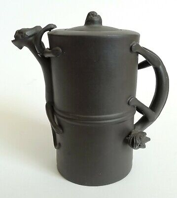 AU92.01 • Buy Oriental Teapot Brown Clay Yixing With Dragon Handle - Seal Marks To Base