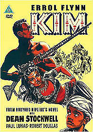 Kim (DVD) - Errol Flynn - 1952 - Colour - Brand New - Free Post • 10.50£