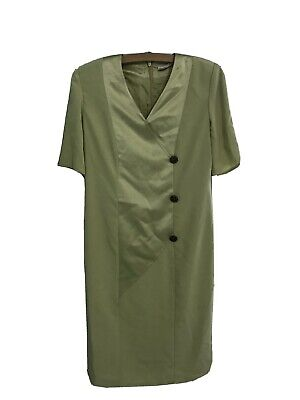 Frank Usher Green Dress And Jacket Wedding Outfit • 10£