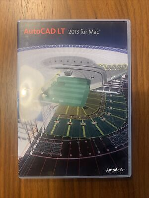 AutoDesk AutoCAD Lt 2013 Software + License For Commercial Use • 650£
