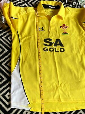 Wales Rugby Union Football Jersey Shirt Under Armour  - Ladies • 2£