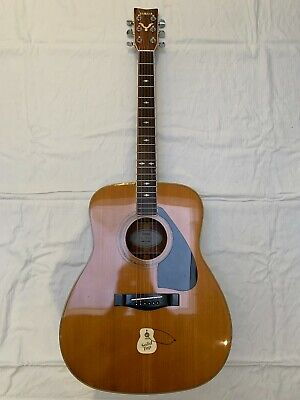 Vintage Yamaha Fg450s Solid Spruce Top Guitar Dove Decal Inlay Fully Refurbished • 699£