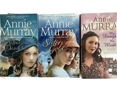 Annie Murray Books Silversmiths Daughter, My Daughter My Mother, Sisters Of Gold • 5.99£