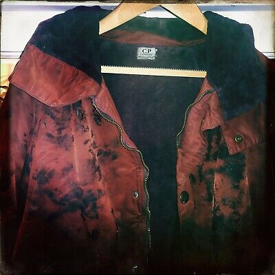 """CP Company Vintage AW Jacket  Red  Camo Size 50 (XL) 25"""" Ptp • 40£"""