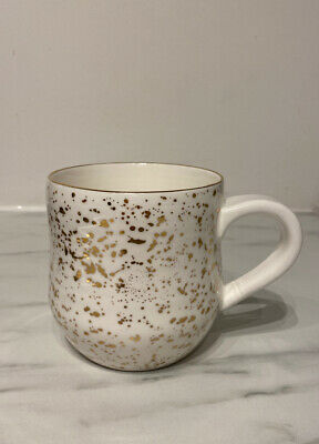 Anthropologie Suite One Studio Splatter Gold Mug • 1.20£