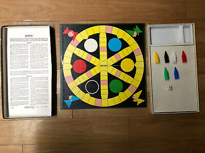 Vintage Coppit Board Game Complete In Box Boxed 1964 Spear's Games Spears Retro • 8.50£