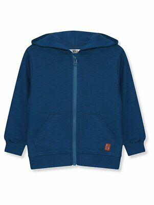 Boys M&Co Blue Dinosaur 3D Spikes Hoodie Age 3-4 Years NEW • 11.99£