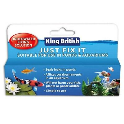 King British Just Fix It Underwater Fixing Solution Beaphar Aquatic Pond Sealant • 8.89£