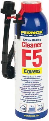 Fernox F5 Express Central Heating Cleaner 280ml 58230 • 12.49£