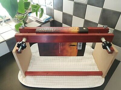 Book Press / Laying, Bookbinding Fore Edge Painting Frame Sturdy Stand Free P&P • 34£