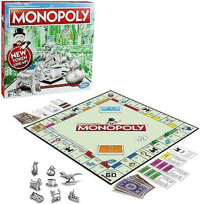 Monopoly Classic Board Game UK EDITION From Hasbro Gaming Brand New Free Post • 25.50£